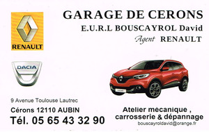 GARAGE de CERONS - BOUSCAYROL David