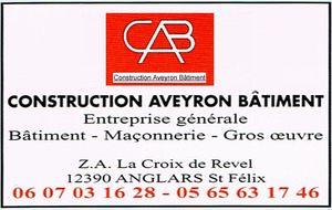 C.A.B - Construction - Aveyron - Batiment